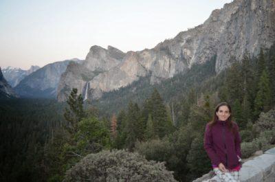La intrare în Yosemite Valley