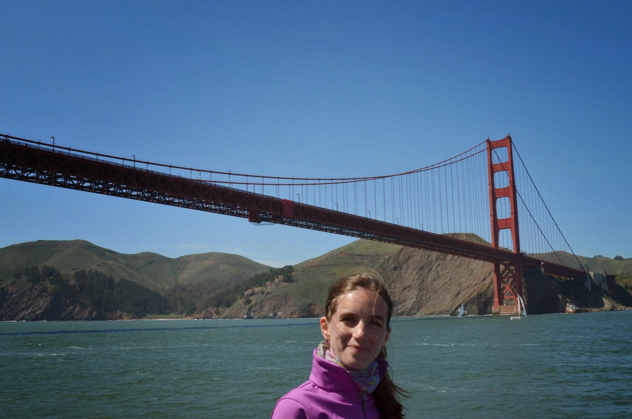 Golden Gate Bridge văzut de pe apă