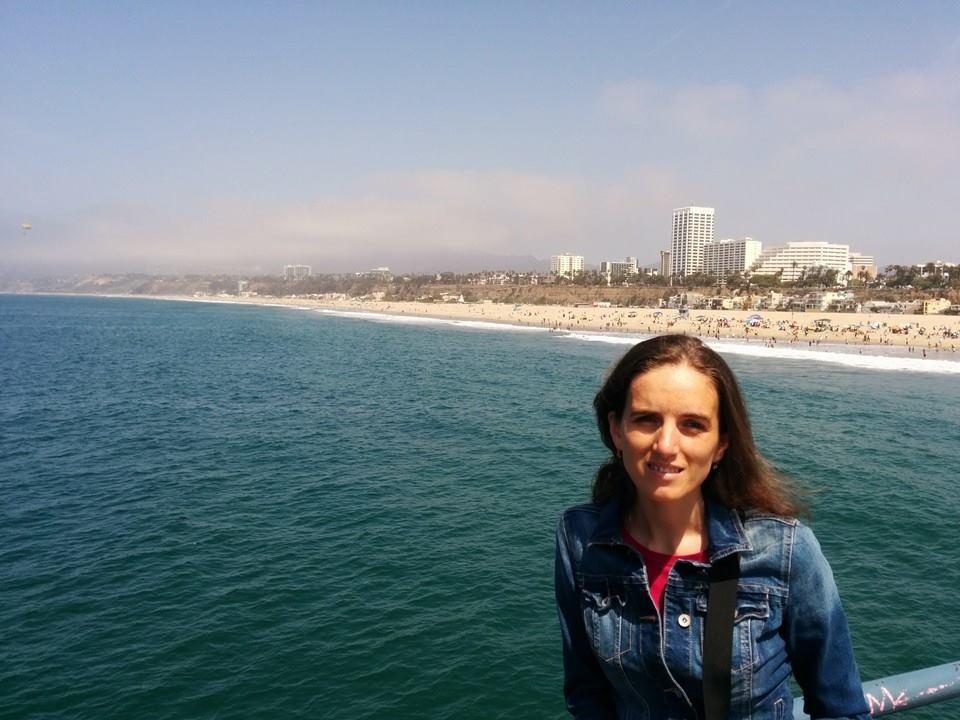 Ultima poză pe Santa Monica Pier